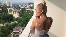 3. Наталья Рудова в сексуальном плятье