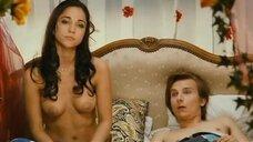 Съемка постельной сцены с Кариной Тестой