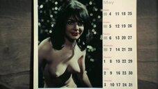 Отец увидел календарь со своей дочерью Марианной Марди