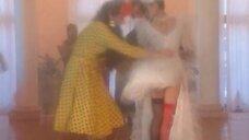У Наталья Бузько порвалось свадебное платье