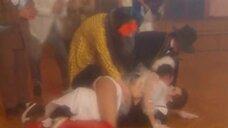 Страстный поцелуй с Натальей Бузько