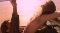 Секс с Александрой Тайдингс в машине