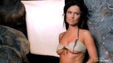 Татьяна Герасимова в ню фотосессии для Maxim