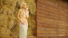 12. Полина Гагарина в ню фотосессии для Maxim