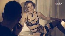 Лукерья Ильяшенко в ню фотосессии для Maxim