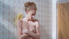 5. Горячая сцена с Светланой Ходченковой в ванной – Любовь без размера