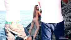 16. Фотосессия Марии Горбань на берегу Черного моря для журнала MAXIM