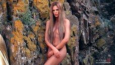5. Фотосессия Марии Горбань на берегу Черного моря для журнала MAXIM