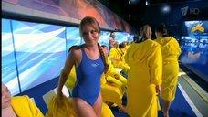 1. Прыжок Даны Борисовой в воду в шоу «Вышка»