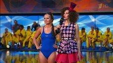 11. Прыжок Даны Борисовой в воду в шоу «Вышка»