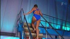 3. Прыжок Даны Борисовой в воду в шоу «Вышка»