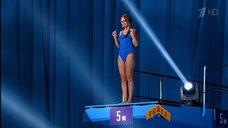 5. Прыжок Даны Борисовой в воду в шоу «Вышка»