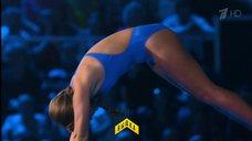 6. Прыжок Даны Борисовой в воду в шоу «Вышка»