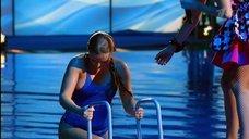 Прыжок Даны Борисовой в воду в шоу «Вышка»