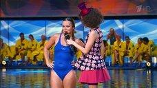 9. Прыжок Даны Борисовой в воду в шоу «Вышка»