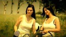 Екатерина Стриженова, Татьяна Арно и Екатерина Андреева в рекламе 1-го телеканала
