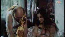 7. Голая грудь Екатерины Стриженовой – Американский дедушка