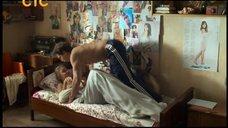 Анастасия Балякина в постели