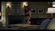 4. Кейт Мара в черном белье – Карточный домик