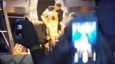 6. Леди Гага разделась догола прямо на сцене