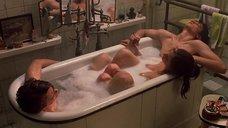 4. Ева Грин принимает ванну с двумя парнями – Мечтатели