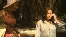 Екатерина Редникова в мокрой рубашке