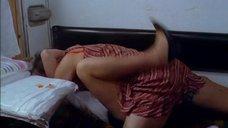 Интимная сцена с Мариной Александровой в купе поезда