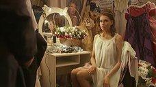 Любовь Толкалина в прозрачном платье