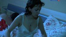 3. Валерия Ланская в ночнушке – Осенний лист