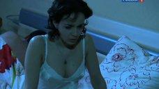4. Валерия Ланская в ночнушке – Осенний лист