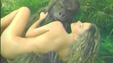 София Вергара на фотосессии с горилой