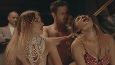 4. Секс сцена с близняшками Daria Chojnacka и Izabela Chojnacka – Петля (2020)
