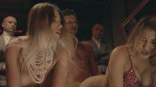 7. Секс сцена с близняшками Daria Chojnacka и Izabela Chojnacka – Петля (2020)