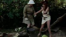 1. Сцена с горячей рыжей девушкой из племени – Шоу Бенни Хилла