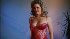 Горячая Кристи Харрис в белье на фотосессии