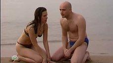 Юлия Типанова в купальнике