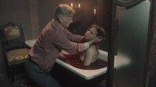 Тело Дарины Фёдоровой в ванне с кровью