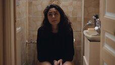 Гольшифте Фарахани в туалете