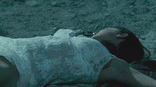 Одрина Пэтридж в белом белье