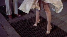 Платье Мэрилин Монро поднимает ветер
