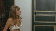 5. Джейн Биркин в белом купальнике – Бассейн