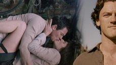 Секс с Джеммой Артертон в хлеву