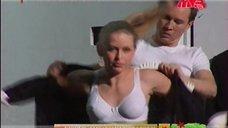 Юлия Пересильд в белом белье