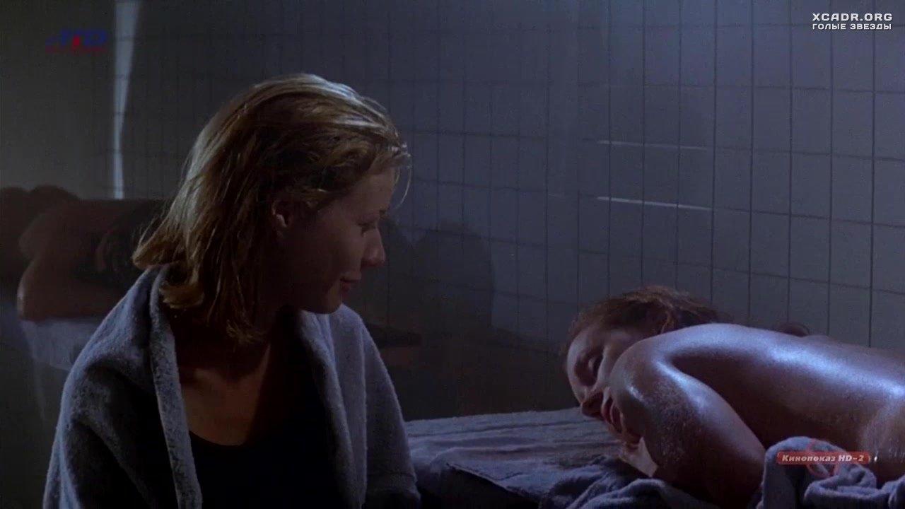 Обнаженная Элизабет Перкинс В Сауне – Лунный Свет И Валентино (1995)