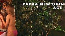 Гвинет Пэлтроу целуется с папуасом