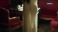 Марина Александрова в прозрачной ночнушке
