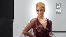 3. Виктория Исакова в фотосессии для «World Fashion Channel»