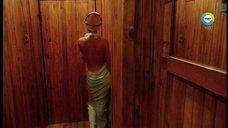 Алёна Бабенко в бане