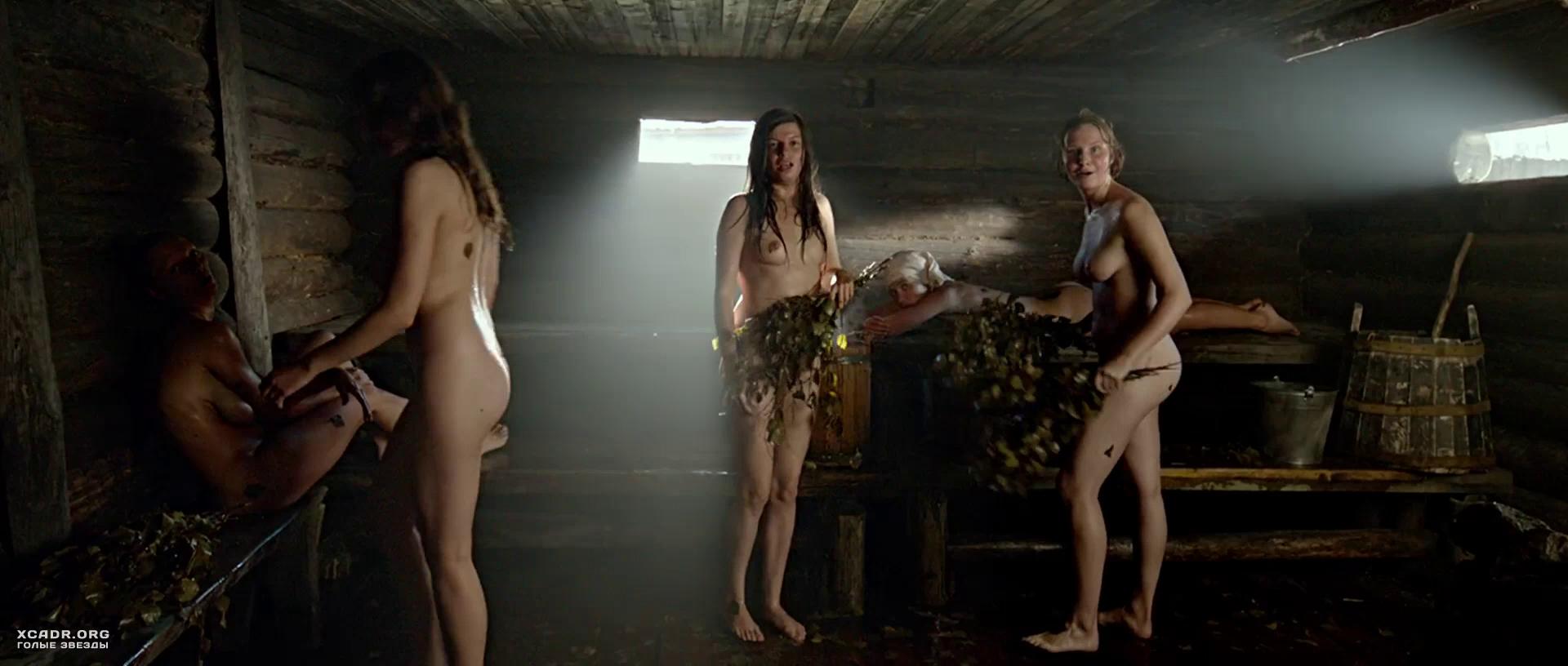 видео голых актрис в сауне взял