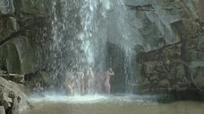 3. Асмус, Кузнецова, Лебедева, Малахова и Микульчина под водопадом – А зори здесь тихие... (Россия)